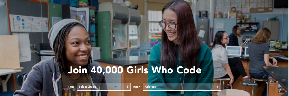 Girls Who Code Main Banner